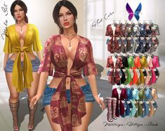 https://flic.kr/p/228KmGG | FurtaCor - Malu Set | 💋 HELLO GIRLS! 💋   This is the new release of FurtaCor!  Shopping with Tag FurtaCor VIP has 15% off inworld shop