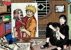 #Narusaku sai, Sakura and Naruto