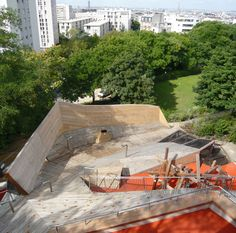 Base Playground, Belleville-Park, Paris 3