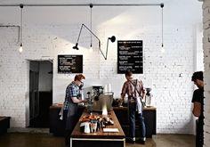 Retail Design: Market Lane Coffee in Melbourne, Australia Coffee Shop Design, Cafe Design, Interior Design, Store Design, Design Market, Interior Shop, Studio Interior, Web Design, Graphic Design