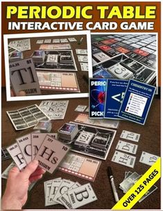 1000 images about physical science activities on - Interactive periodic table game ...