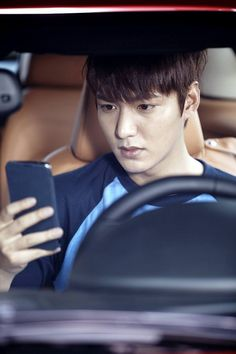 "Lee Min Ho ♡ #Kdrama - ""Heirs"": Lee Min Ho Studies While He Drives (UPDATED)"