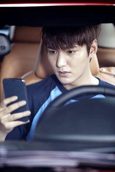 "Lee Min Ho ♡ #Kdrama - ""Heirs"": Lee Min Ho Studies While He Drives (UPDATED)"
