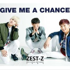 """ZEST-Z (Shun, Shin and Yeho) Releases Subunit MV for """"Give Me a Chance"""" 