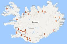 All year around Campsites in Iceland