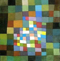 Blossoming by Paul Klee