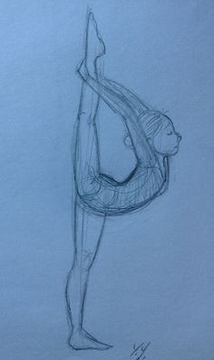 Gymnastics girls, Gymnastics and Girl sketch on Pinterest