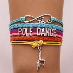 Infinity Love Pole Dance Bracelet #fitnessclassesnearme,