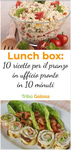 Lunch box: il tabulé e altre 9 ricette per il PRANZO in UFFICIO pronte IN 10 MINUTI What to prepare for lunch at the office? Here are 10 recipe ideas for your lunch box, ready in 10 minutes Healthy Cooking, Healthy Eating, Lunch Recipes, Healthy Recipes, Restaurant Recipes, Light Recipes, Other Recipes, Quick Easy Meals, Meal Prep