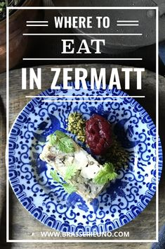 Zermatt restaurant: discover the cosiest restaurant in the ski village of Zermatt, Switzerland. Roasted Baby Potatoes, Sweet Corn Soup, Roasted Pear, Tasting Menu, Roasted Peppers, Zermatt, Dinner Menu, Food Allergies, Vegan Chocolate
