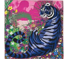 Hermès Tyger Tyger scarf celebrates the Indian Tiger -