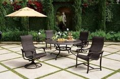 Image result for patio design with large table