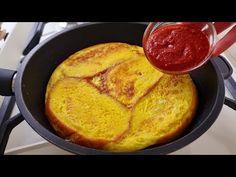 Finom és gyors pizza egy serpenyőben 5 perc alatt! 2 egyszerű recept🔝 # 171. - YouTube Pizza Lasagna, Pizza Dough, Greek Recipes, Relleno, Gluten Free Recipes, Cornbread, Breakfast Recipes, Chicken Recipes, Easy Meals