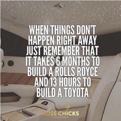 #goodthings #goodthingsarecoming #goodthingscometothosewhowait #rollsroycecars