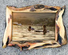 8x12 Diamond Willow wood Photo Frame