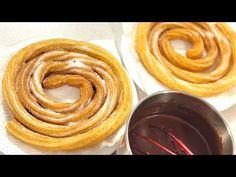 Churros caseros fáciles (no explotan) - Delicious Churros Recipes Online Lidl, Peruvian Desserts, Snack Recipes, Snacks, Sweet Pie, Spanish Food, Canapes, Onion Rings, Holiday Baking