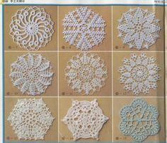 [Reserved] handmade Masters 4 crochet flower shape (1) - Hawthorn Xiuse is - tea rhyme