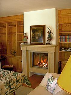 Traditioneller Heizkamin #Ofen #Kamin #Fireplace www.ofenkunst.de