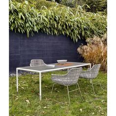 B&B Italia Crinoline Outdoor Gartenstuhl mit Polyethylenfasergeflecht 66 cm