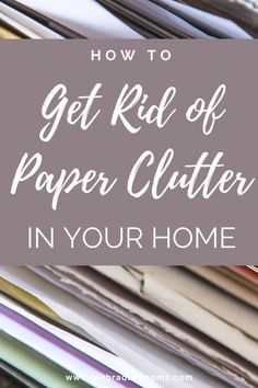 Learn how to declutter paperwork and organize paper clutter that may be lurking all over your house! #declutterpaperwork #declutterpaper #declutterpaperpiles #decluttering #declutteryourhome #organizepaperclutter Home Organization Hacks, Paper Organization, Organizing, Childrens Artwork, Paper Clutter, Circular Economy, Declutter Your Home, Minimalist Lifestyle, Happy Mom