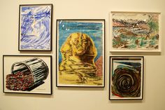 Raymond Pettibon had some cool stuff, as always. That guy works so fast and is so good. The always good David Zwirner Gallery had these on display.