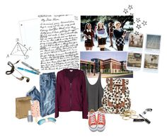 """""""The new girl"""" by ildica-33 ❤ liked on Polyvore featuring Sharpie, Polaroid, Forever 21, J.Crew, RVCA, Velvet by Graham & Spencer, Call it SPRING, Jil Sander, Converse and Tory Burch"""