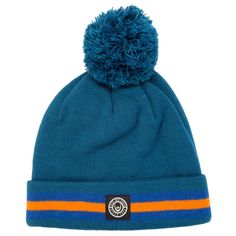 #DuckandCover Mens Striped Bobble #Hat in Navy #GetTheLabel #fashion #gtl
