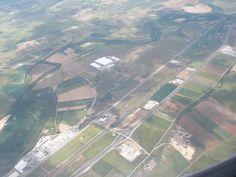 Irlanda - sacada desde avión poco antes de aterrizar, mayo 2013 (Carmen hb)
