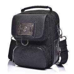 Waterproof Nylon Military Messenger Sling Shoulder Bag Men Travel Mobile Phone Case Purse Small Tote Bags Brand Male Handbag New