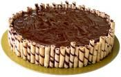 Triple Chocolate Cheesecake -Special birthday cake delivery any where in Philippines.