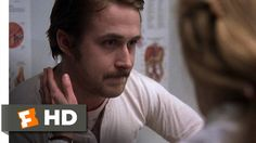 """Without expecting I fell in love with """"Lars and the Real Girl"""" a powerful movie about the depression of loneliness starring Ryan Gosling doing an amazing performance. Lars (Ryan) doesn't like to be touched and in this scene the doctor (Patricia Clarkson) tries to fix him."""