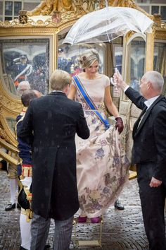 GALLERY: Máxima wows in breathtaking gown for Prince's Day | Royalista