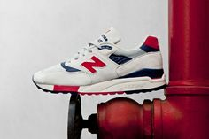 """Image of J.Crew x New Balance Made in USA M998 """"Independence Day"""""""