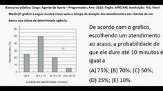 Curso de Estatística Interpretação de gráficos e tabelas Análise gráfica... https://youtu.be/xxA5T-mRWFU