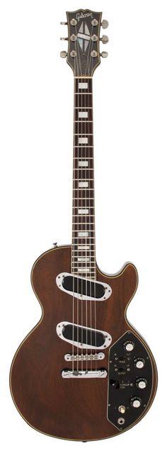 Gibson 1971 Les Paul Recording Walnut Finish