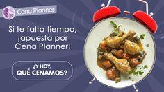 Si te falta tiempo, ¡apuesta por Cena Planner!