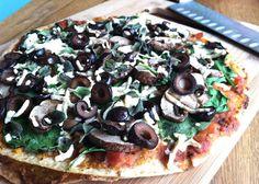 Perfect for a busy day dinner! http://positivelyvegan.blogspot.com/2013/07/tortillas-pizza-tortizza.html