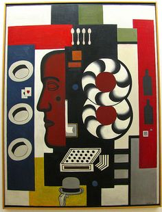 Fernand Leger. Composition with Hand and Hats