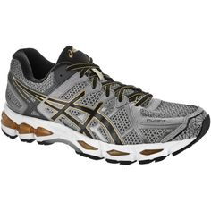 ASICS GEL-Kayano® 21 Men's Grey Beige/Black/Gold : Running: Holabird Sports