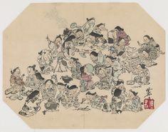 Women - Artist: Kawanabe Kyosai — Google Arts & Culture