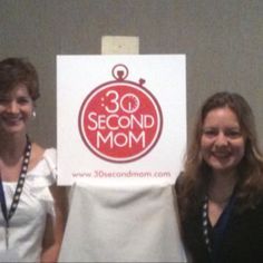 The #30SecondMom crew at #SheStreams! @samkj27 @specialedsmart @elisatalk and me! Lovin' it!