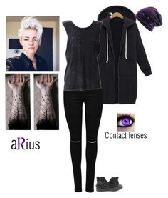"""""""aRius"""" by oxxnjaxxo ❤ liked on Polyvore featuring Converse"""