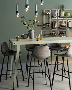 Colorful Furniture, Kitchen Living, Dining Area, House Design, Room, Inspiration, Home Decor, Workshop, Interiors