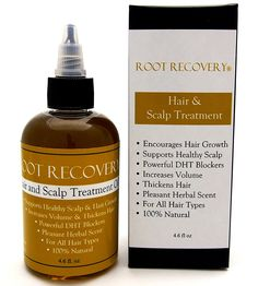 Root Recovery Hair and Scalp Treatment - DHT Blocker, Hair Growth Serum, Hair Loss Treatment, All Natural, Saw Palmetto, Man or Woman >>> Check out the image by visiting the link.