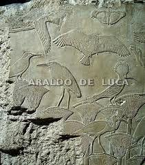 Relieve mural de la coronaci n de ptolomeo ix edf for Mural egipcio