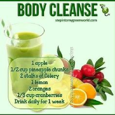 This cleanse sounds good!