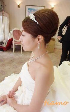 幸せなお2人のHappyクルーズウエディング♡ の画像|大人可愛いブライダルヘアメイク『tiamo』の結婚カタログ