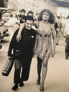 Azzedine Alaia & Tina Turner