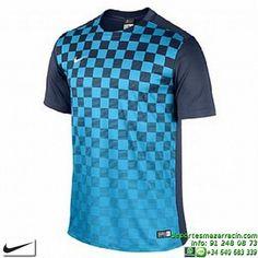 NIKE Camiseta PRECISION III JERSEY Futbol AZUL MARINO ROYAL 644626-739 color…