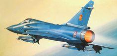 Dassault Mirage 2000 C (Serge Jamois) Military Jets, Military Aircraft, Fighter Aircraft, Fighter Jets, War Jet, Aviation Art, War Machine, Cold War, Box Art